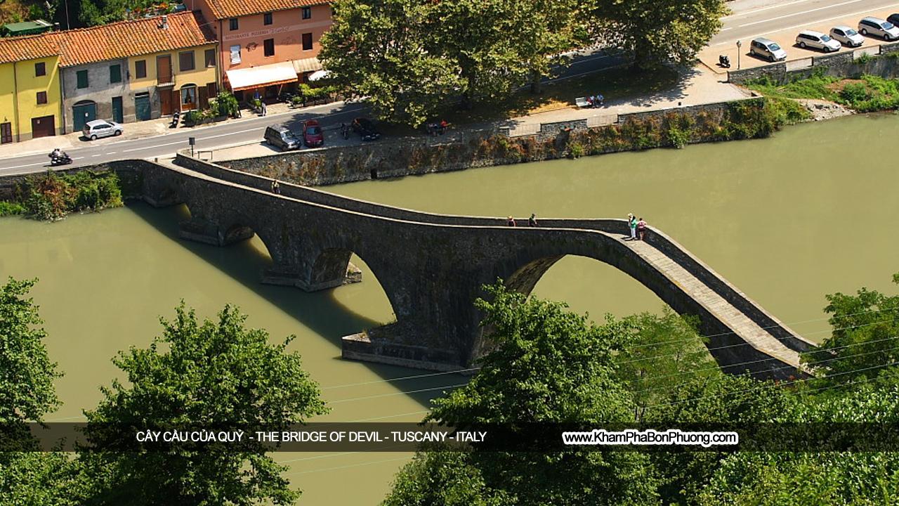 Cây Cầu Của Quỷ - Tuscany - Italy