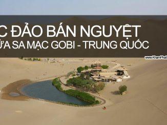 Khám Phá Ốc Đảo Bán Nguyệt Sa Mạc Gobi