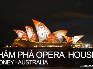 Khám phá nhà hát Opera House, Sydney, Úc - www.KhamPhaBonPhuong.com