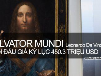 Buổi Đấu Giá Salvator Mundi - Leonardo Da Vinci