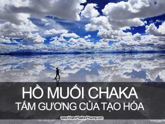 Hồ muối Chaka, tấm gương khổng lồ của tạo hóa, Trung Quốc | Khám Phá Bốn Phương