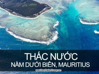 Tìm hiểu thác nước dưới biển, Mauritius | Khám Phá Bốn Phương