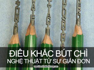Nghệ thuật điêu khắc từ cây bút chì | Khám Phá Bốn Phương